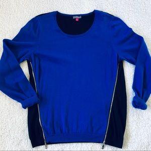 Vince Camuto Zipper Sweater